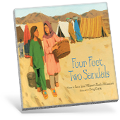 Around the World - Four Feet Two Sandals book cover