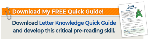 Letter Knowledge Quick Guide Download