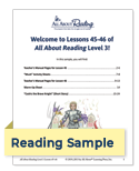 All About Reading sample