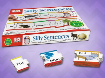 silly sentences game review featured graphic