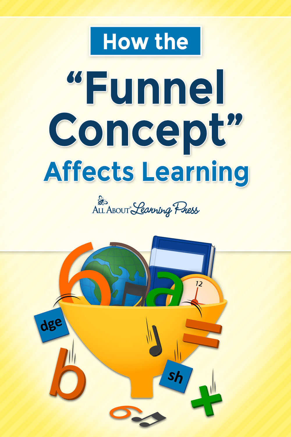 The funnel concept pinterest graphic