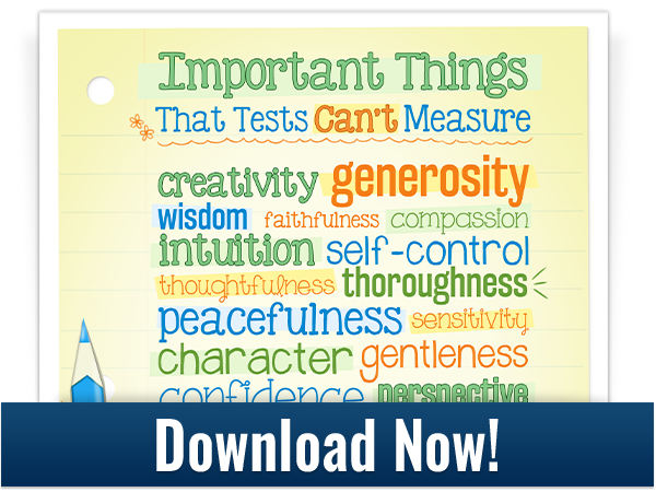 important things that tests can't measure download graphic