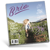 Brio Magazine Cover