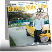 Military Kids Life Magazine Cover