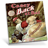 Casey Back at Bat Book Cover