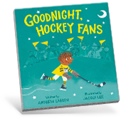 Goodnight Hockey Fans Book Cover