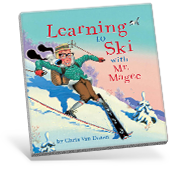 Learning to Ski with Mr. Magee Book Cover