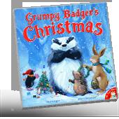 Grumpy Badger's Christmas book cover