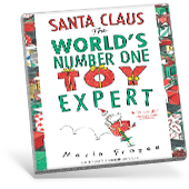 Santa Claus, the World's Number One Toy Expert book cover