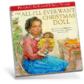 The All-I'll-Ever-Want-For-Christmas Doll book cover