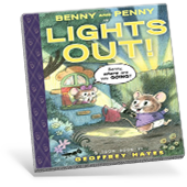 Benny and Penny Graphic Novel Cover