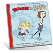 Bink and Gollie Graphic Novel Cover