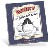 Binky the Space Cat Book Cover