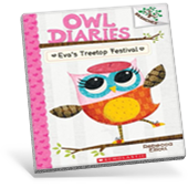 Owl Diaries Graphic Novel Cover
