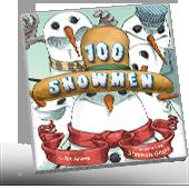 100 Snowmen book cover