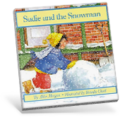 Sadie and teh snowman book cover