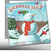 Snowman Magic book cover